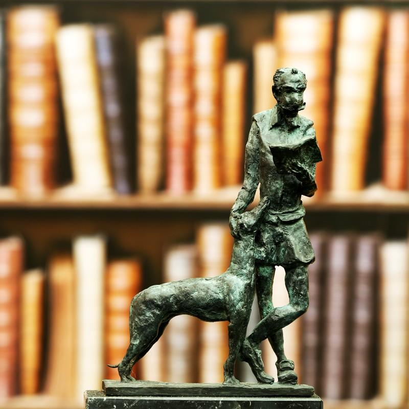 escultura de Don Quijote. Morla Escultura