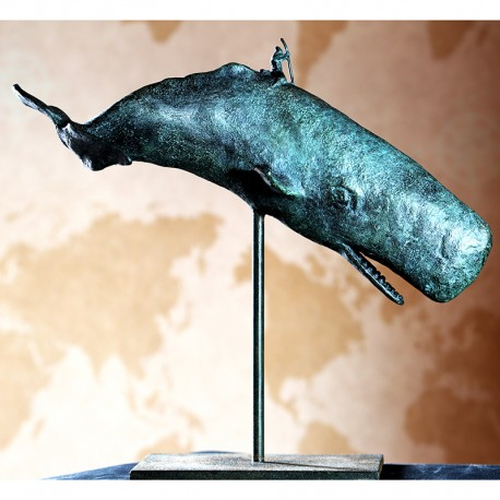 Moby Dick Morla Bronce