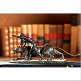 Mowgli Bagueera bronce
